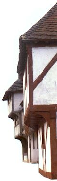 Timberframe homes were very common in the middle ages.